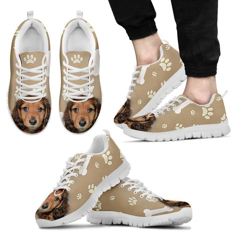 Dachshund Dog-Men's Running Shoes-Free Shipping-Paww-Printz-Merchandise