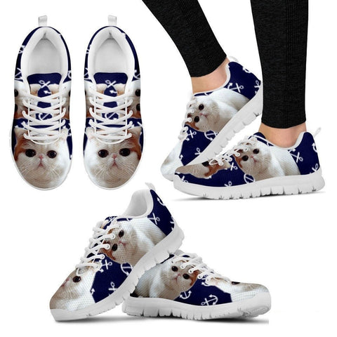 Exotic Shorthair Cat Running Shoes For Women-Free Shipping-Paww-Printz-Merchandise
