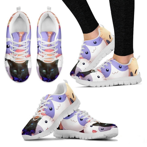 Margaret Hennessee/Cat-Running Shoes For Women-3D Print-Free Shipping-Paww-Printz-Merchandise