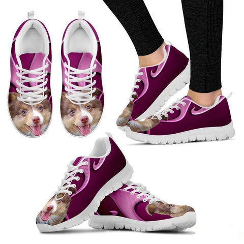 Miniature Australian Shepherd Dog Running Shoes For Women-Free Shipping-Paww-Printz-Merchandise