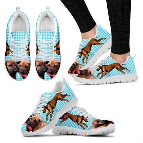 Rhodesian Ridgeback-Dog Running Shoes For Women-Free Shipping-Paww-Printz-Merchandise