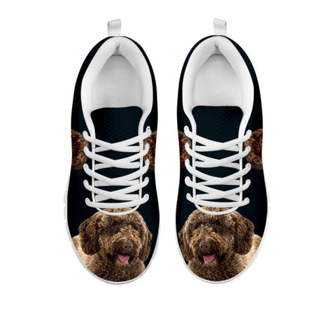 Amazing Spanish Water Dog Print Running Shoes For Women-Free Shipping-For 24 Hours Only-Paww-Printz-Merchandise