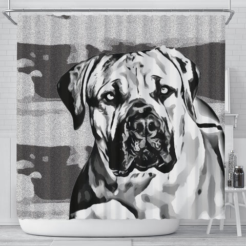 South African Mastiff (Boerboel) Dog Print Shower Curtain-Free Shipping