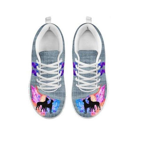 Amazing Great Dane Print Running Shoes For Women-Free Shipping-For 24 Hours Only-Paww-Printz-Merchandise
