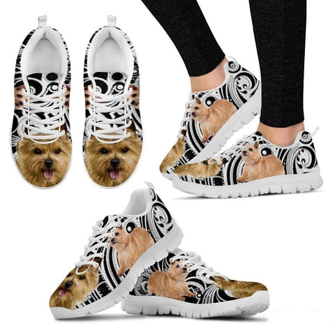 Norwich Terrier Dog Running Shoes For Women-Free Shipping-Paww-Printz-Merchandise