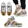 Norwich Terrier Dog Running Shoes For Men-Free Shipping-Paww-Printz-Merchandise