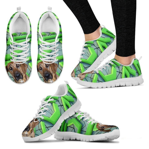 Plott Hound Dog Running Shoes For Women-Free Shipping-Paww-Printz-Merchandise