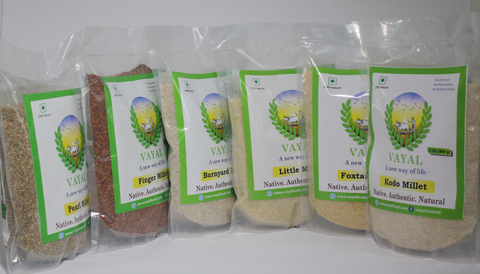 Pulses & Millets
