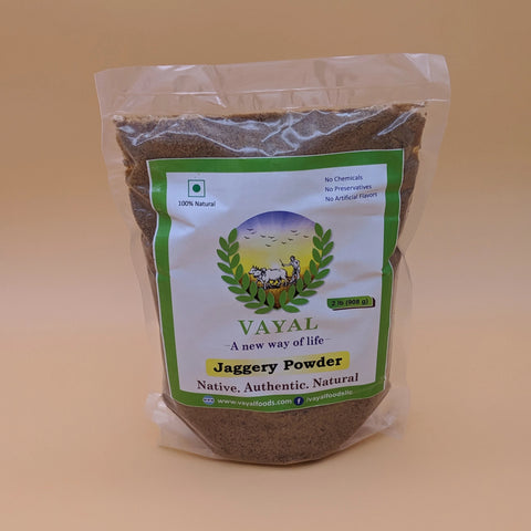 Jaggery Powder - Vayal Foods