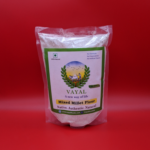 Mixed Millet Flour - Vayal Foods