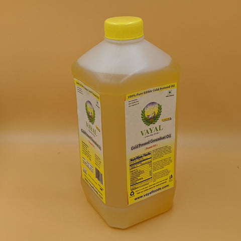 Extra Virgin Peanut Oil - Vayal Foods