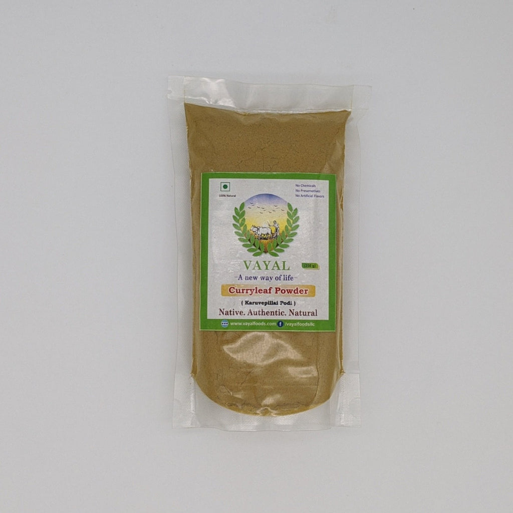 Curry Leaves Powder - Vayal Foods