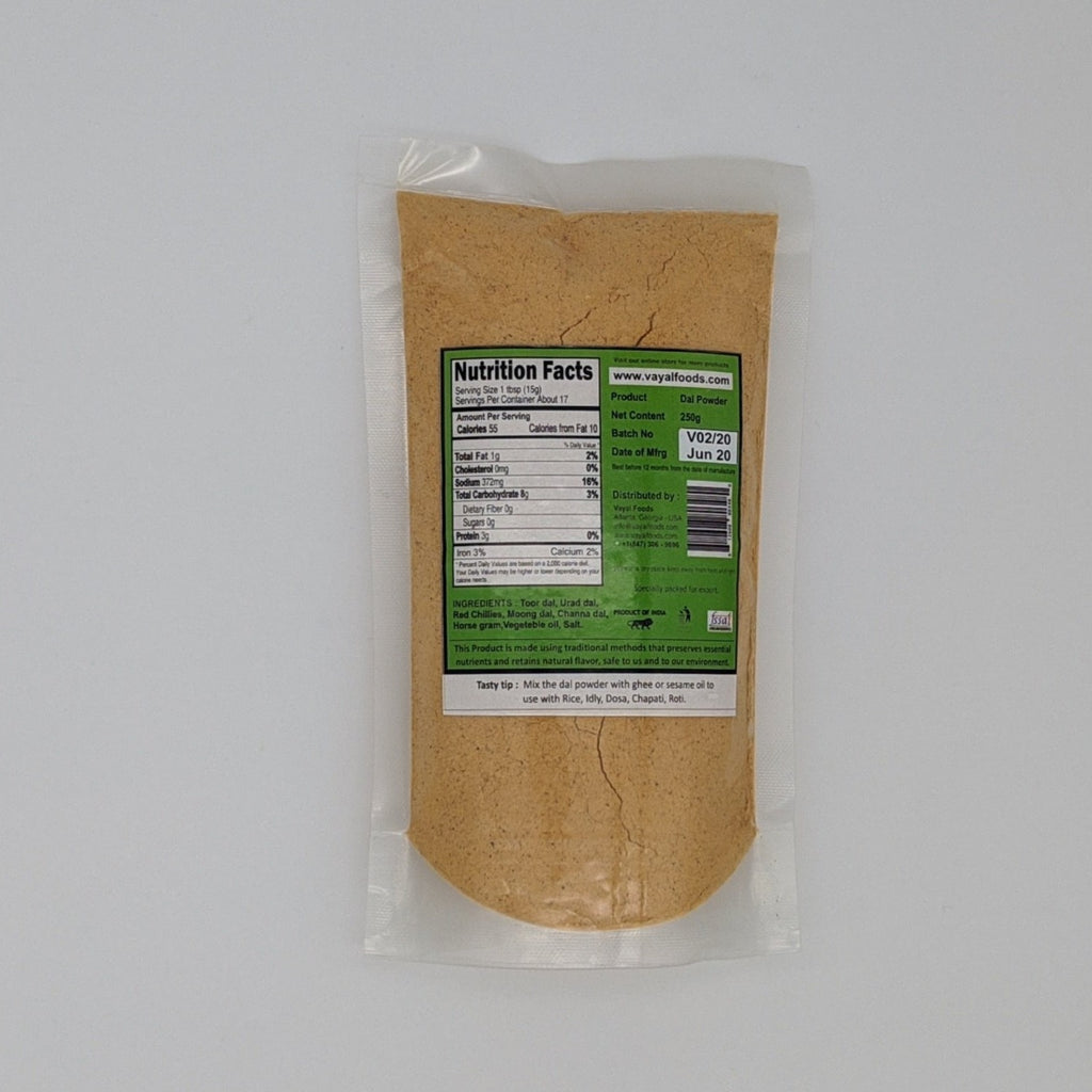 Dal Powder - Vayal Foods