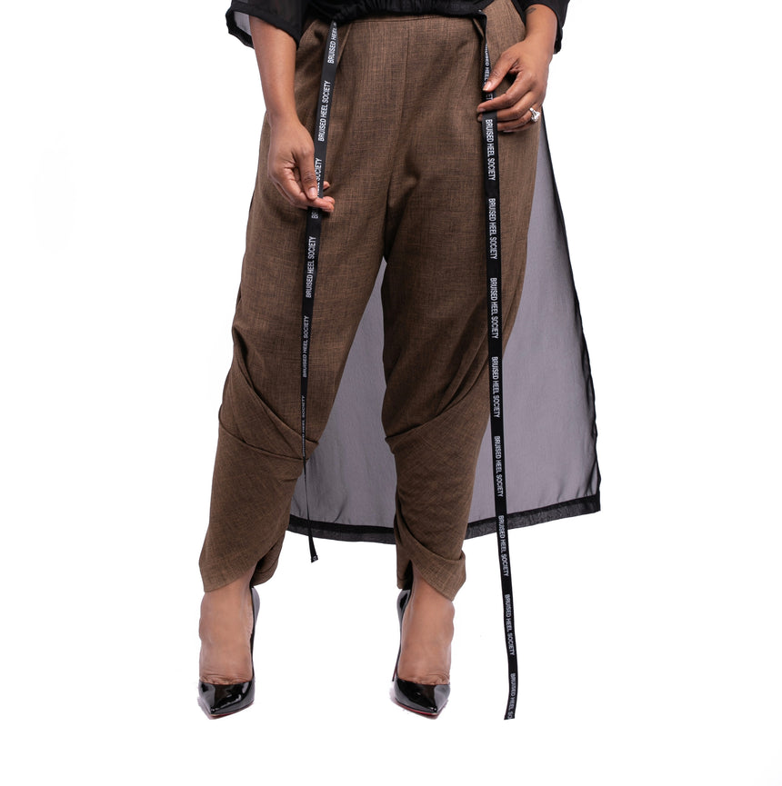 Convertible Wide Leg Pants