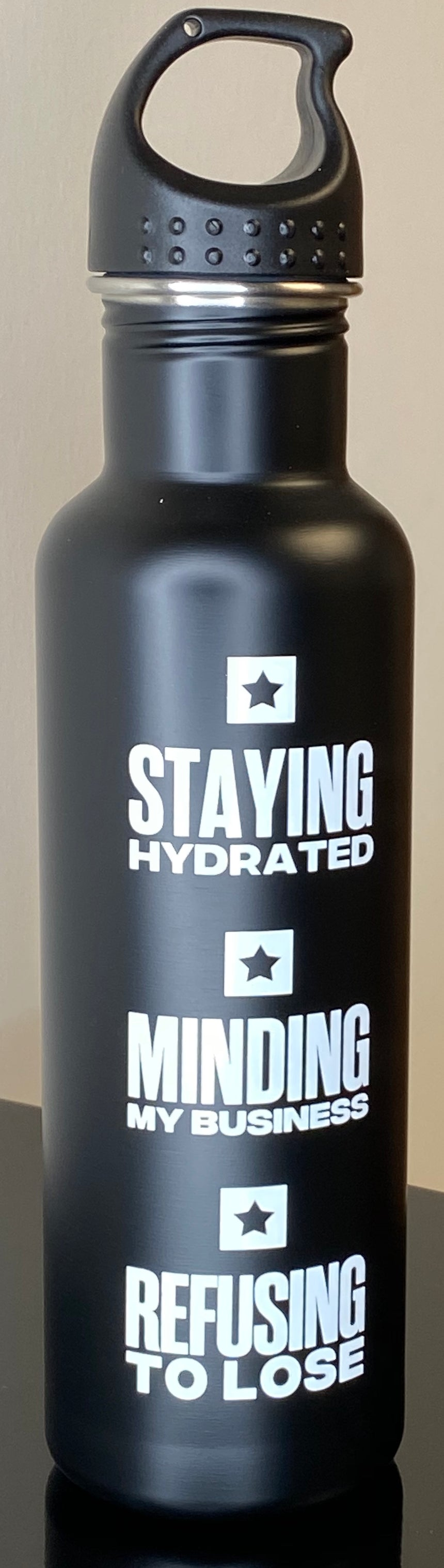 "RTL ""Staying Hydrated"" Water Bottles"