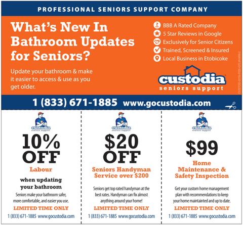 Custodia Seniors Spring Specials