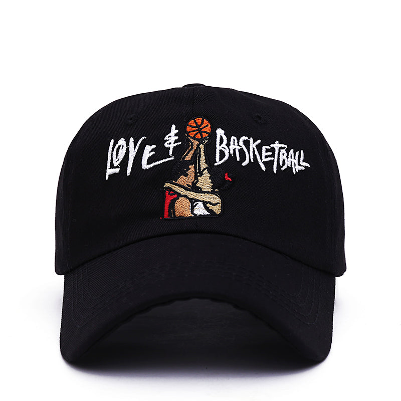 BLACK Love & Basketball DAD HAT