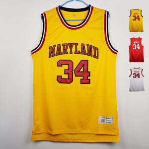 Len Bias #34 Maryland Basketball