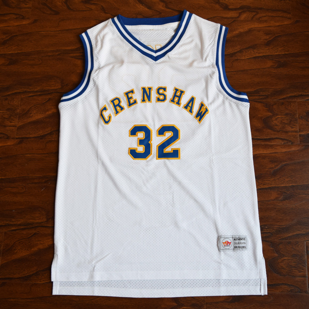 Monica Wright #32 Crenshaw High School Basketball Jersey Love and Basketball