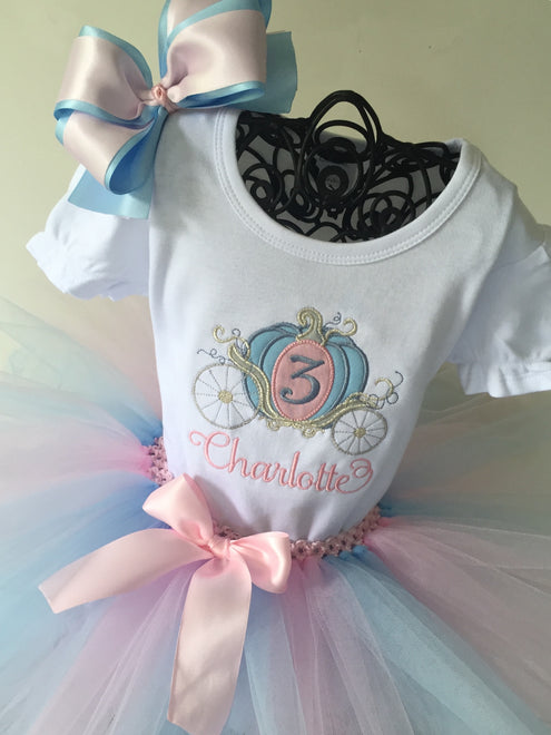 Girl's Birthday Shirts and Tutu Sets