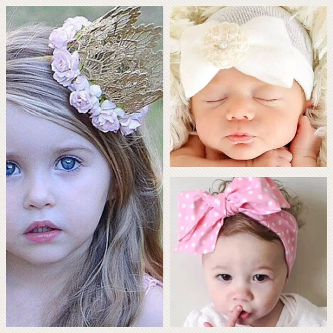 Crowns, Tiaras, Hair Bows, Infant Caps