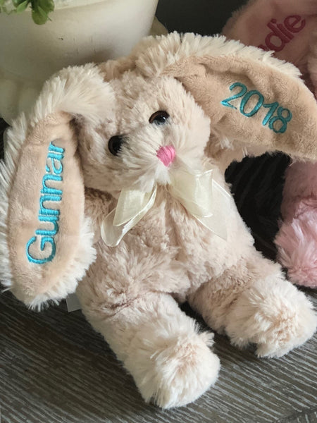 Personalized Bunny 9""