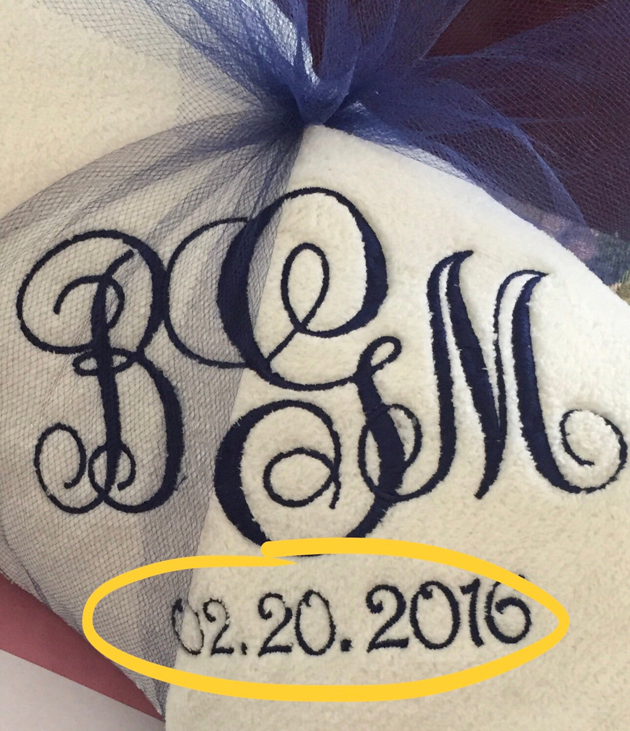 Add Date or Extra Name on Throw Blanket