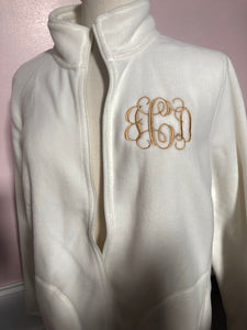 Monogrammed Women's Fleece Jacket