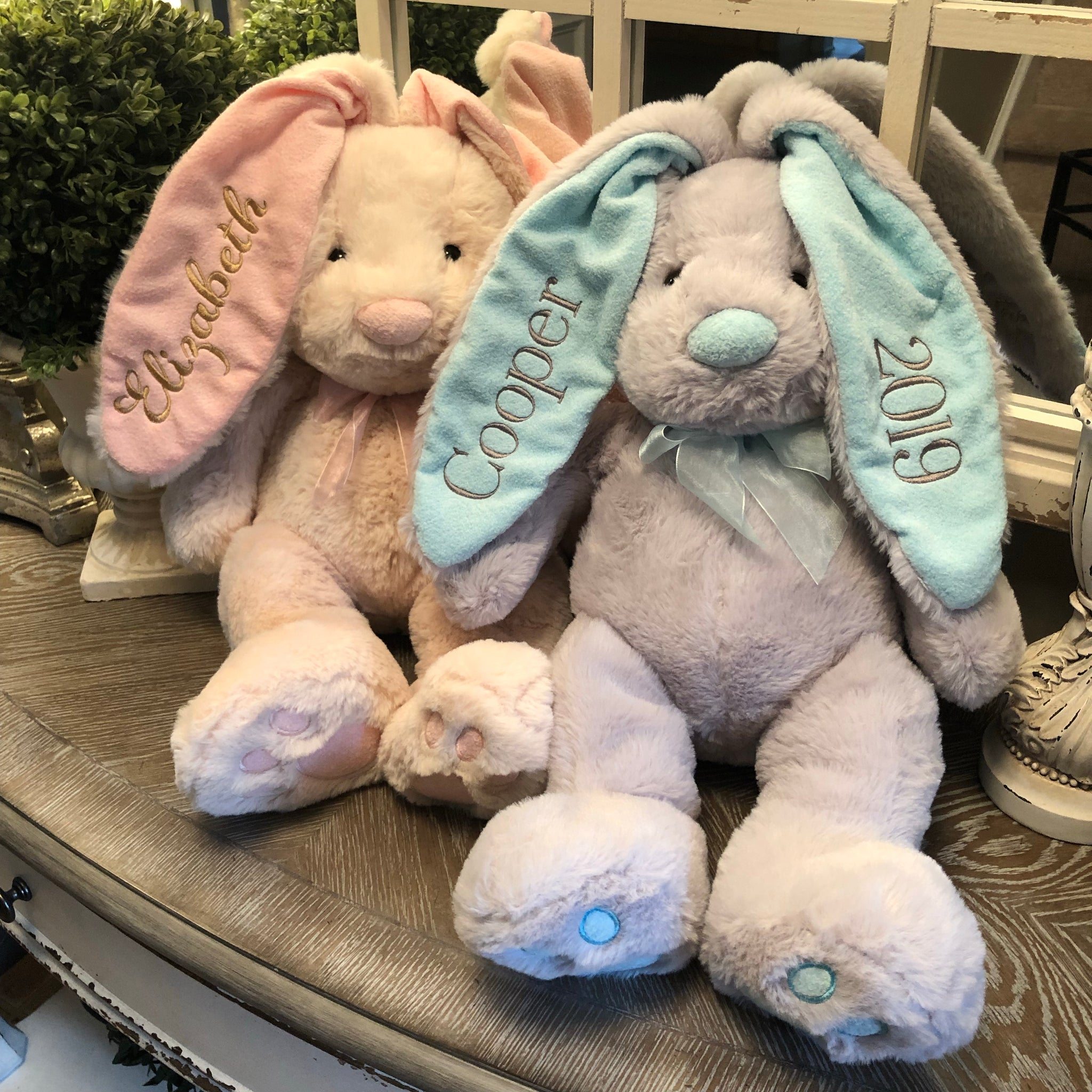 Personalized Bunny 22""