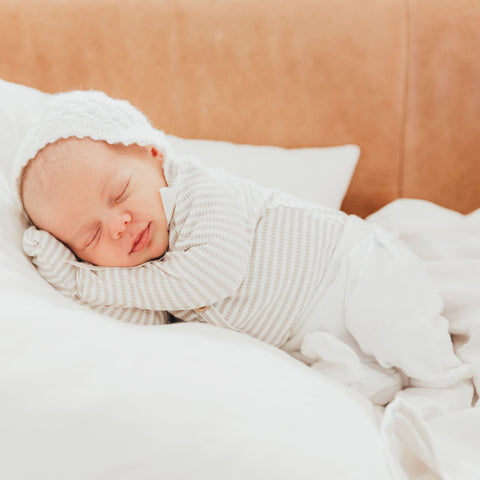 The essential newborn checklist.  Wrap in beautiful 100% organic gots cotton swaddle muslin wraps.  Snuggle under 100% bamboo baby blankets and wash with luxuriously soft 100% bamboo baby washcloths