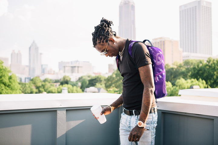 Sprayground & Young Thug Just Dropped A Purple Collaboration Capsule!