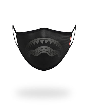 MIDNIGHT SHARK FORM-FITTING MASK