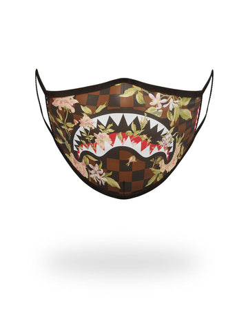 SHARK FLOWER FORM-FITTING MASK