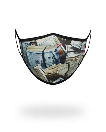 MONEY WHERE UR MOUTH IS FORM-FITTING MASK
