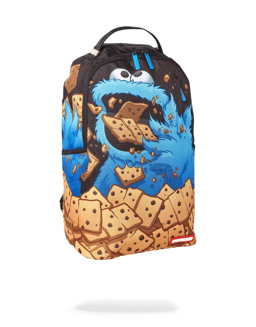 SPRAYGROUND- COOKIE MONSTER: COOKIE DOUGH BACKPACK BACKPACK