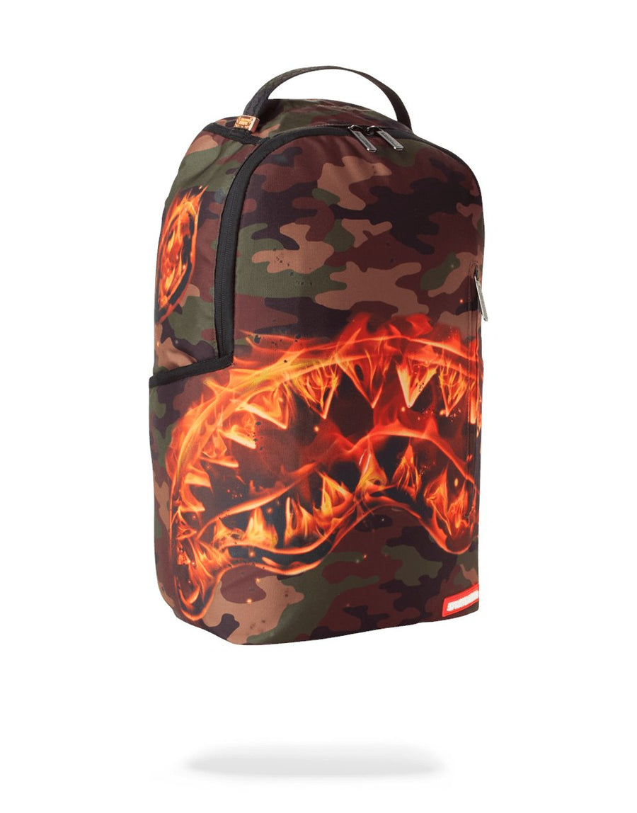 SPRAYGROUND- FIRE SHARK BACKPACK BACKPACK