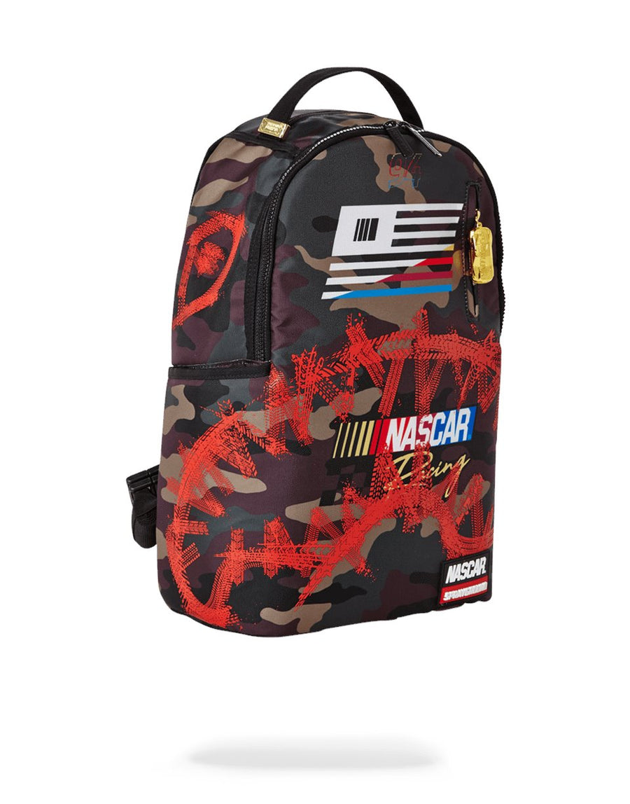 SPRAYGROUND- NASCAR BURNOUT BACKPACK BACKPACK