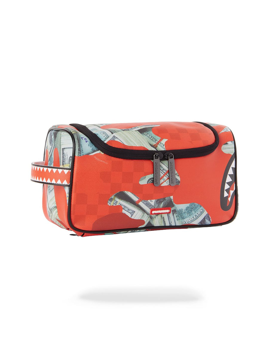 SPRAYGROUND- PANIC ATTACK TOILETRY BAG TOILETRY BAG