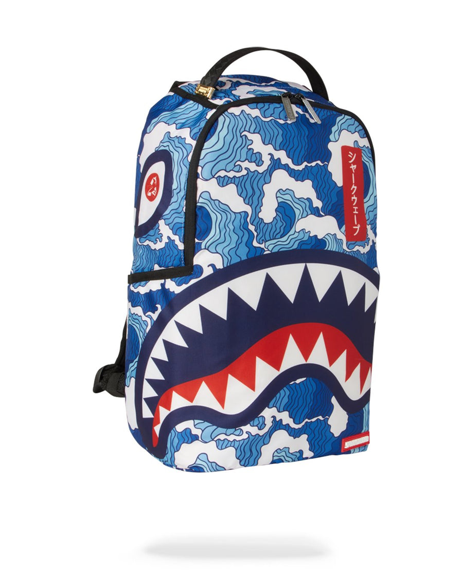 SPRAYGROUND- SHARK WAVE  BACKPACK BACKPACK