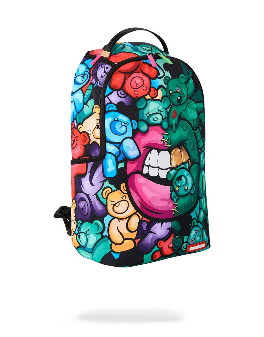 SPRAYGROUND- ZOMBIE GUMMY BEAR LIPS BACKPACK BACKPACK