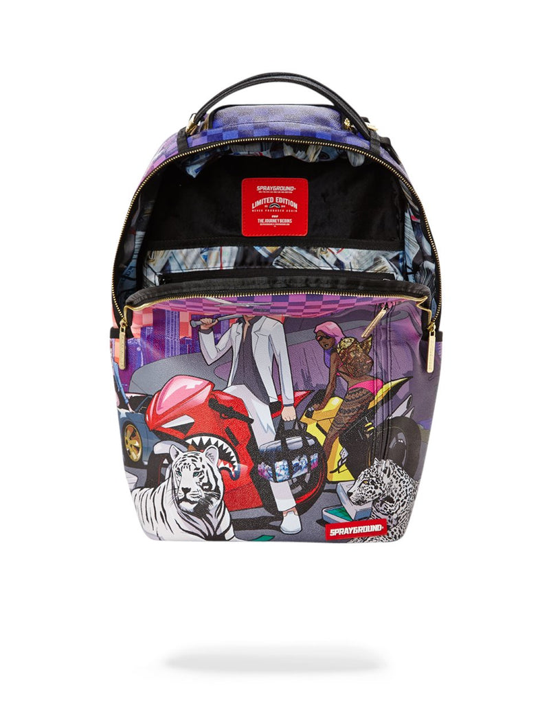 THE DROP OFF PART 2 BACKPACK