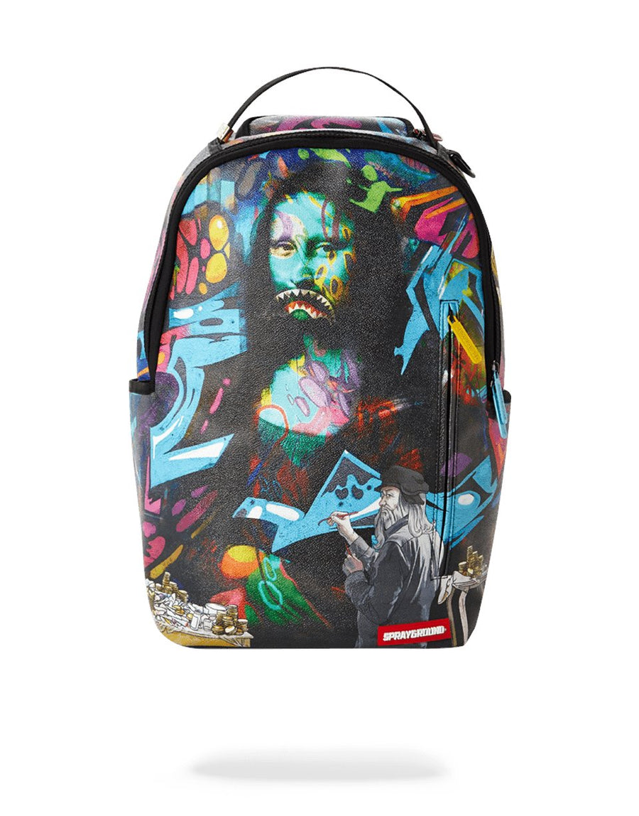 SPRAYGROUND- MONA LISA BACKPACK