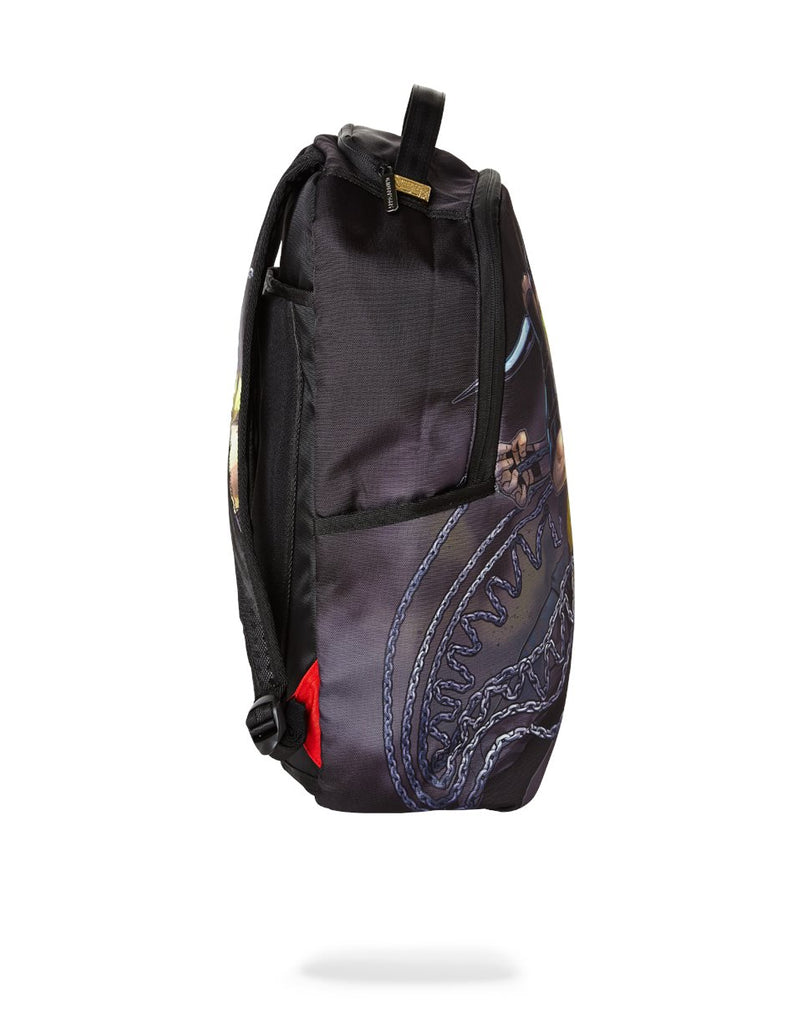 MORTAL KOMBAT SCORPION BACK PACK