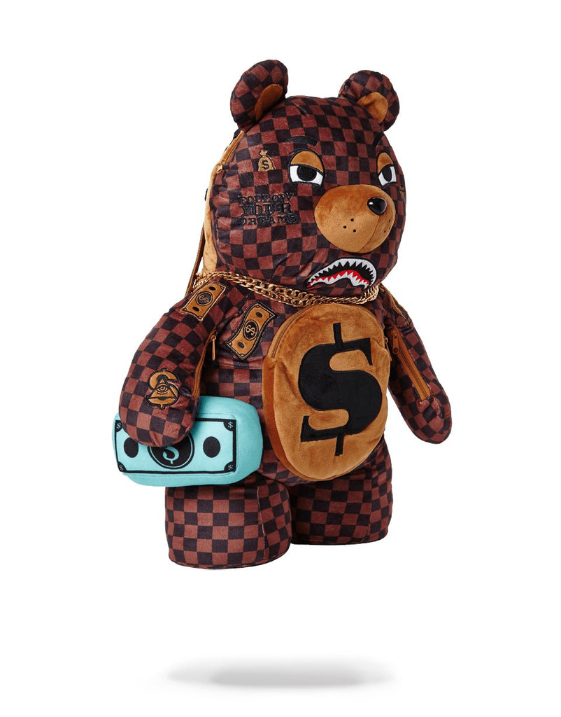 PARIS BEAR (TEDDY BEAR BACKPACK)