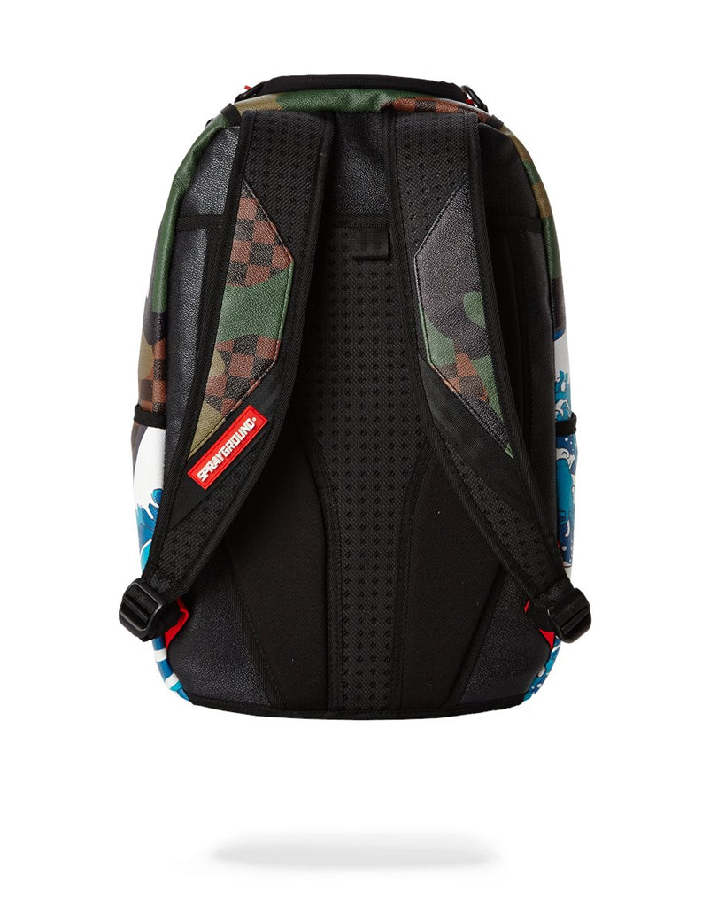CHECKERED CAMOKAWA BACKPACK