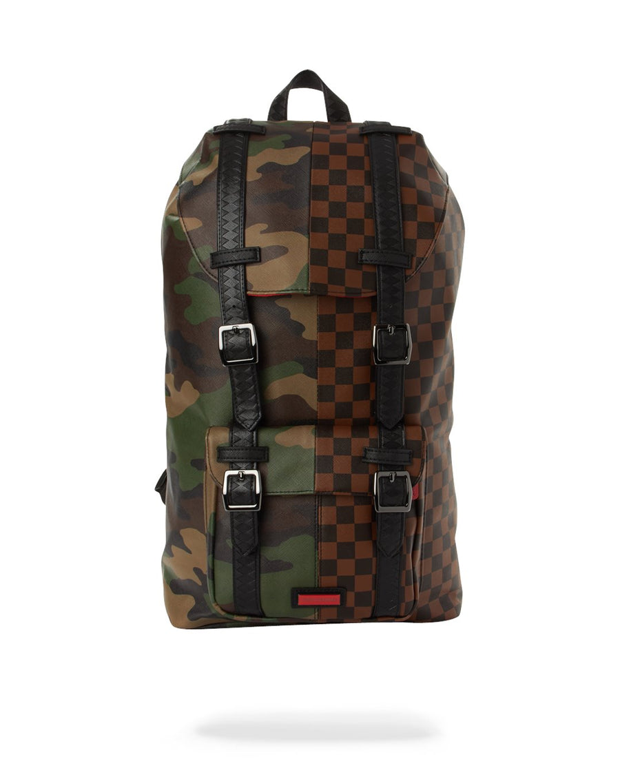 SPRAYGROUND- THE CHECKS & CAMO HILLS BACKPACK BACKPACK