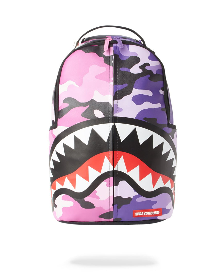 SPRAYGROUND- SPLIT CAMO BACKPACK BACKPACK
