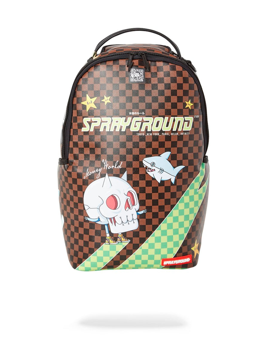 SPRAYGROUND- THUNDER SHARKS BACKPACK BACKPACK
