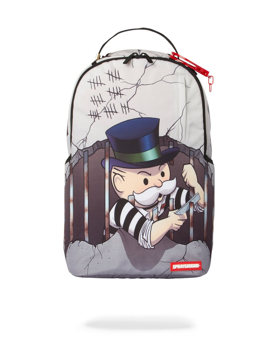 SPRAYGROUND- MONOPOLY: PRISON BREAK BACKPACK BACKPACK
