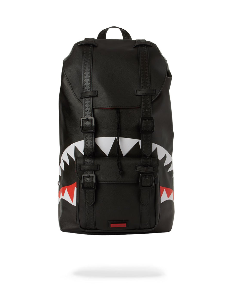 SPRAYGROUND- THE BLACK OUT SHARK HILLS BACKPACK BACKPACK